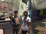 Dan and Rom at Urban Climb