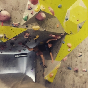 Ned climbing at Bayside